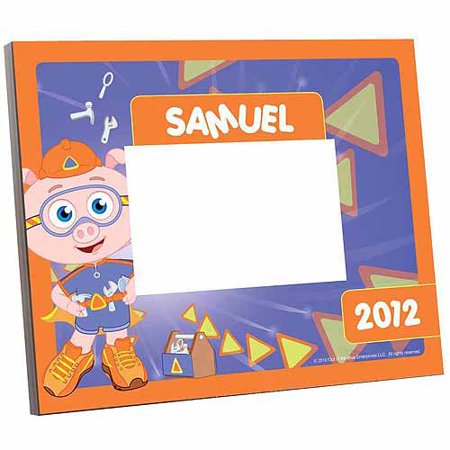 Alpha Pig (Personalized Super Why! Alpha Pig Picture Frame )