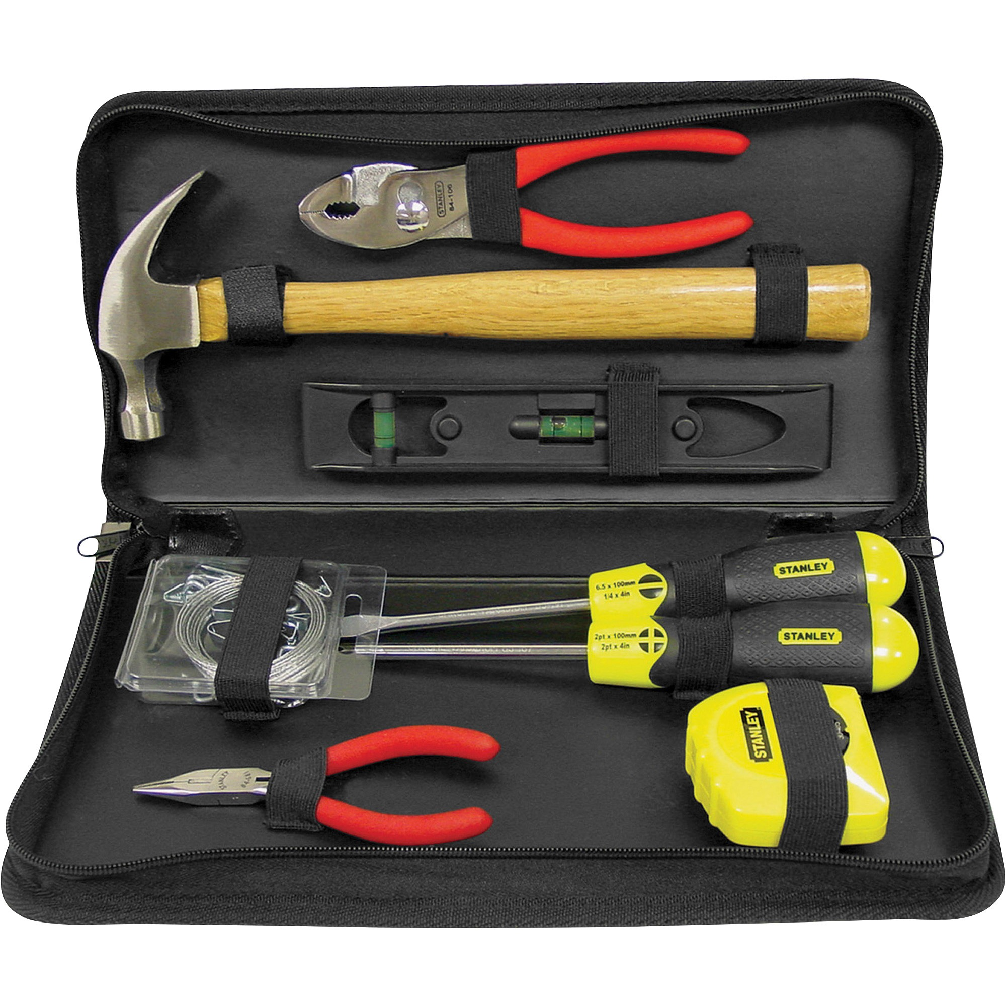 Stanley, BOS92680, Home/Office Toolkit, 1, Black