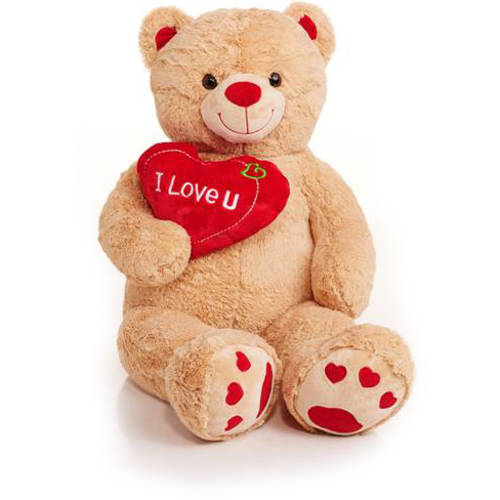 Jumbo Valentines Teddy Bear With Quot I Love You Quot Heart