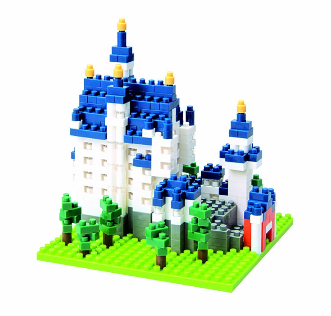 Castle Neuschwanstein (550 pcs)..., By Nanoblock Ship from US by