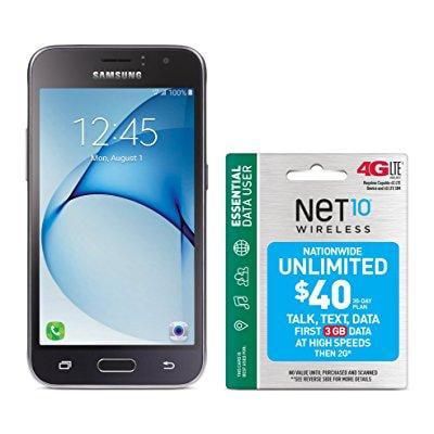 NET10 Galaxy Luna Prepaid Carrier Locked - Black