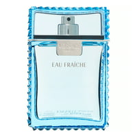 Versace Man Eau Fraiche Eau De Toilette Spray, Cologne for Men, 3.4 Oz