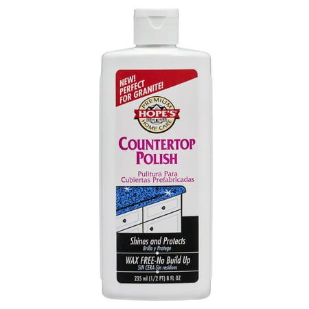 Countertop Polish (Hope's Countertop Polish, 8 ounce)