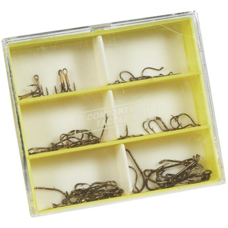 South Bend® THA-1 Trout Hook Assortment Fishing Hooks 56 pc