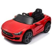 Best Ride On Cars 12V Maserati Ghibli Model Car - Red