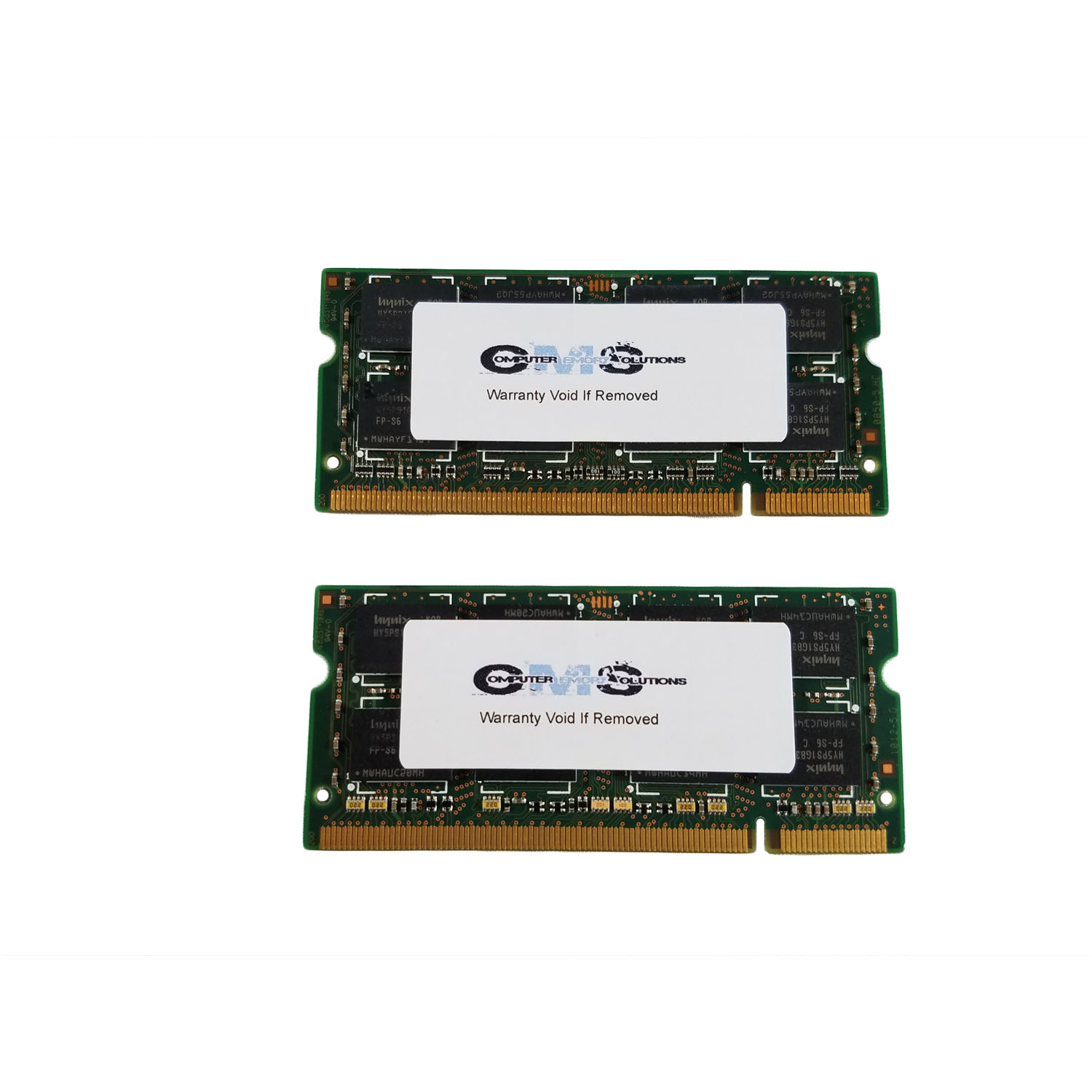2Gb (2X1Gb) Sodimm Ram Memory Compatible With Dell Latitude D600 Notebook Series By CMS A49