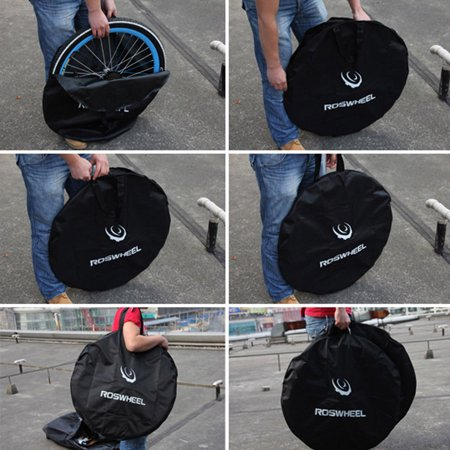 Ktaxon ROSWHEEL Bike Travel Transport Wheel Bag Cycle Bicycle Box Case