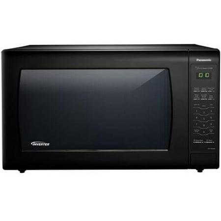 Panasonic 2.2 Cu. Ft. 1250W Genius Sensor Countertop Microwave Oven with Inverter Technology in