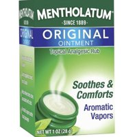 Mentholatum Original Ointment Soothing Relief, Aromatic Vapors - 1 oz