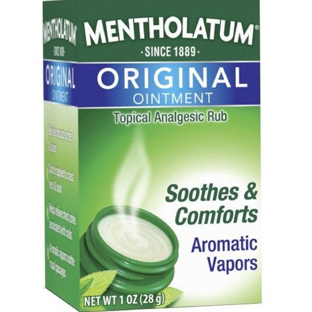 2 Pack - Mentholatum Original Ointment Soothing Relief, Aromatic Vapors - 1 -