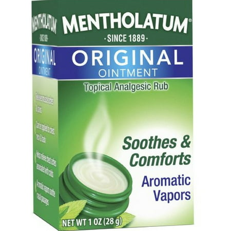 Mentholatum Original Ointment Soothing Relief, Aromatic Vapors - 1 oz