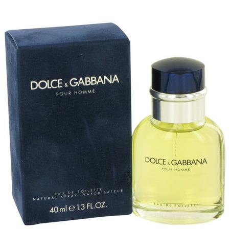Dolce & Gabbana DOLCE & GABBANA Eau De Toilette Spray for Men 1.3 (Dolce & Gabbana For Men)