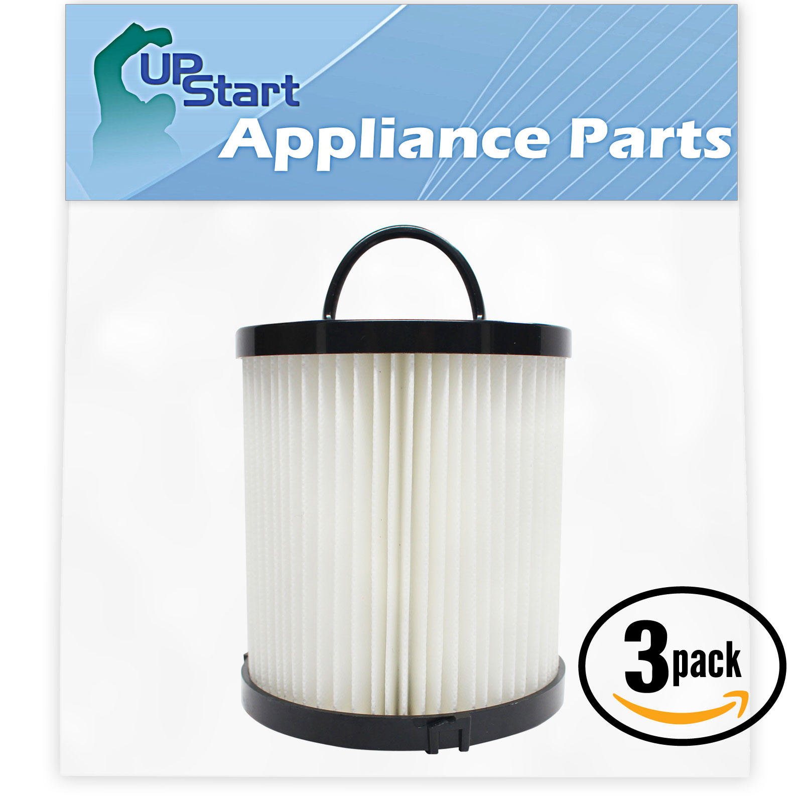 3-Pack Replacement Eureka AirSpeed AS1150A Vacuum Dust Cup Filter  - Compatible Eureka DCF-21 Filter