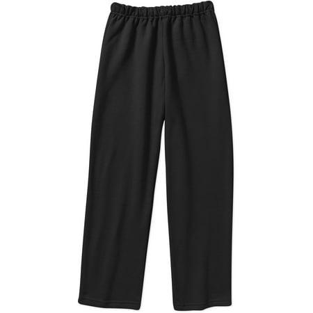 Gildan Kid's Heavy Blend Open Bottom Pocketed Sweatpant (Sweatpants Kids Black)