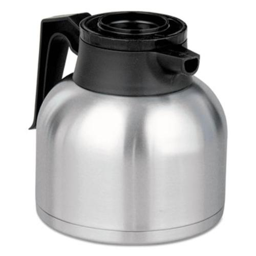 Bunn THERMBLK 1.9 Liter Thermal Carafe, Stainless Steel/black