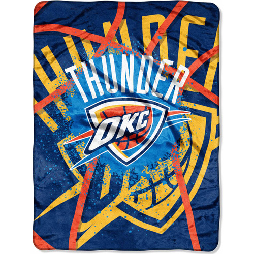 "Nba 60"" X 80"" Royal Plush Raschel Throw"