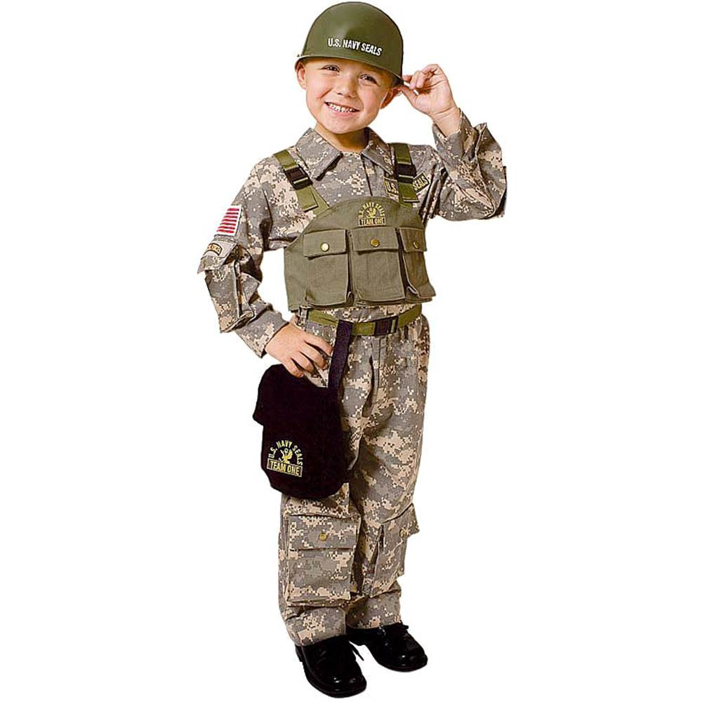 Dress Up America Navy SEAL Childrens Costume