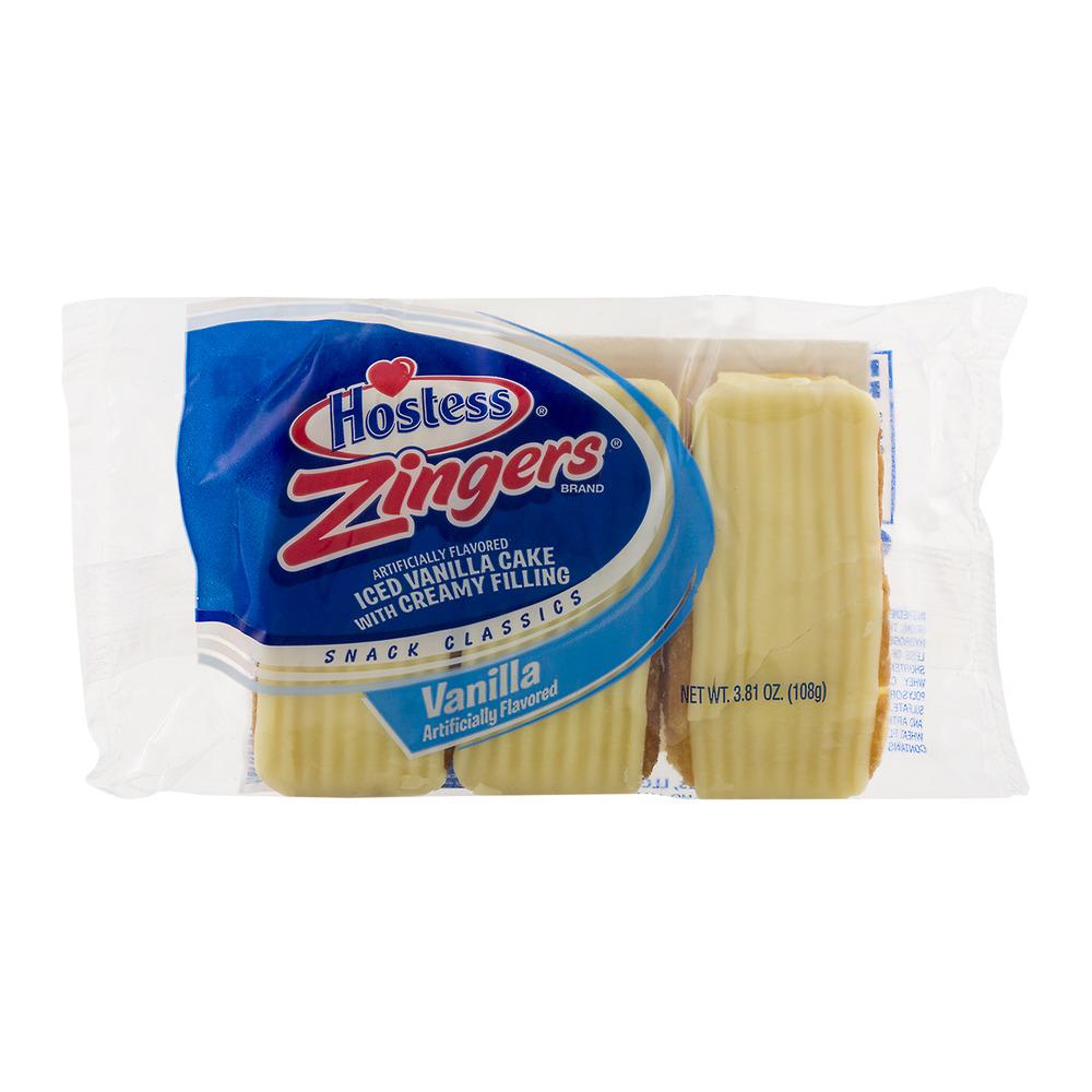 Hostess Zingers Vanilla, 3 ct, 3.81 oz