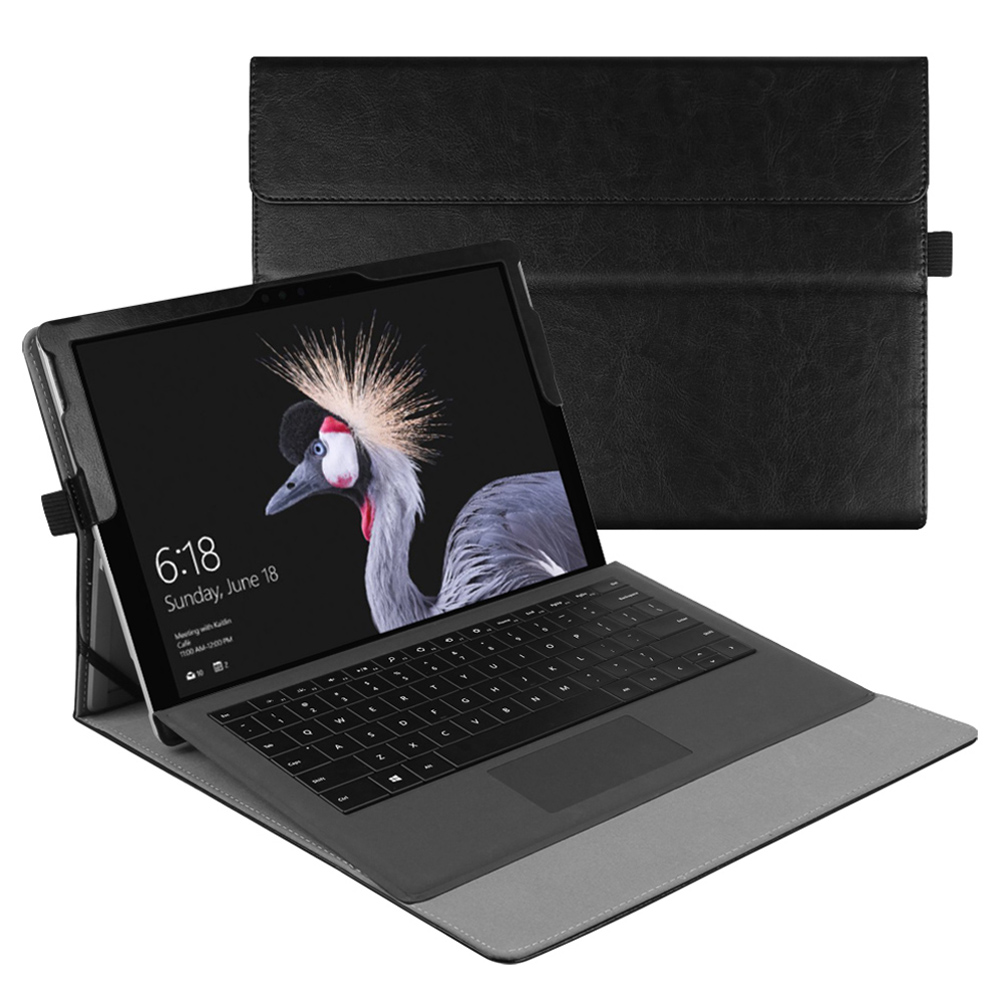 Fintie New Surface Pro 2017 / Surface Pro 4 / Surface Pro 3 Case - Built-in Kickstand with Multi-Angle Viewing Cover