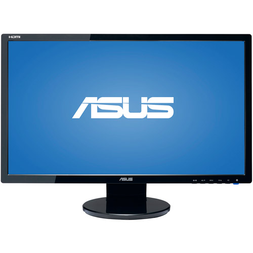 "ASUS 24"" LCD Widescreen Monitor, Black (VE248H)"