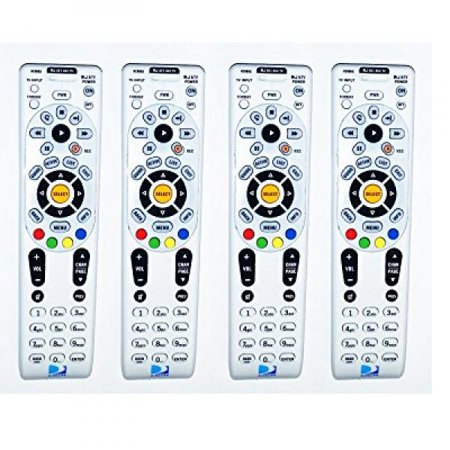 Lot Of 4 Remote Controls NEW!! DIRECTV RC66RX RF Universal Remote Control's Replaces