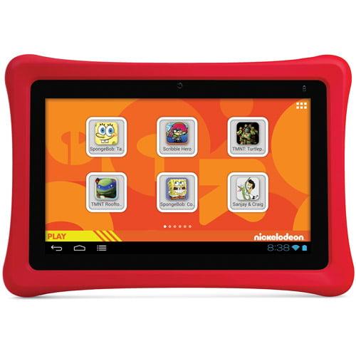 "nabi 2 Nickelodeon Edition 7"" Tablet 8GB Memory"