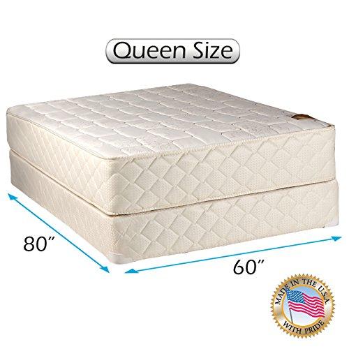 mattress with boxspring. grandeur deluxe queen size (60\ mattress with boxspring