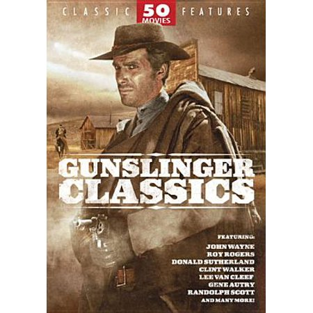Mill Creek Studios Gunslinger Classics: 50 Movie Dvd Std Ff