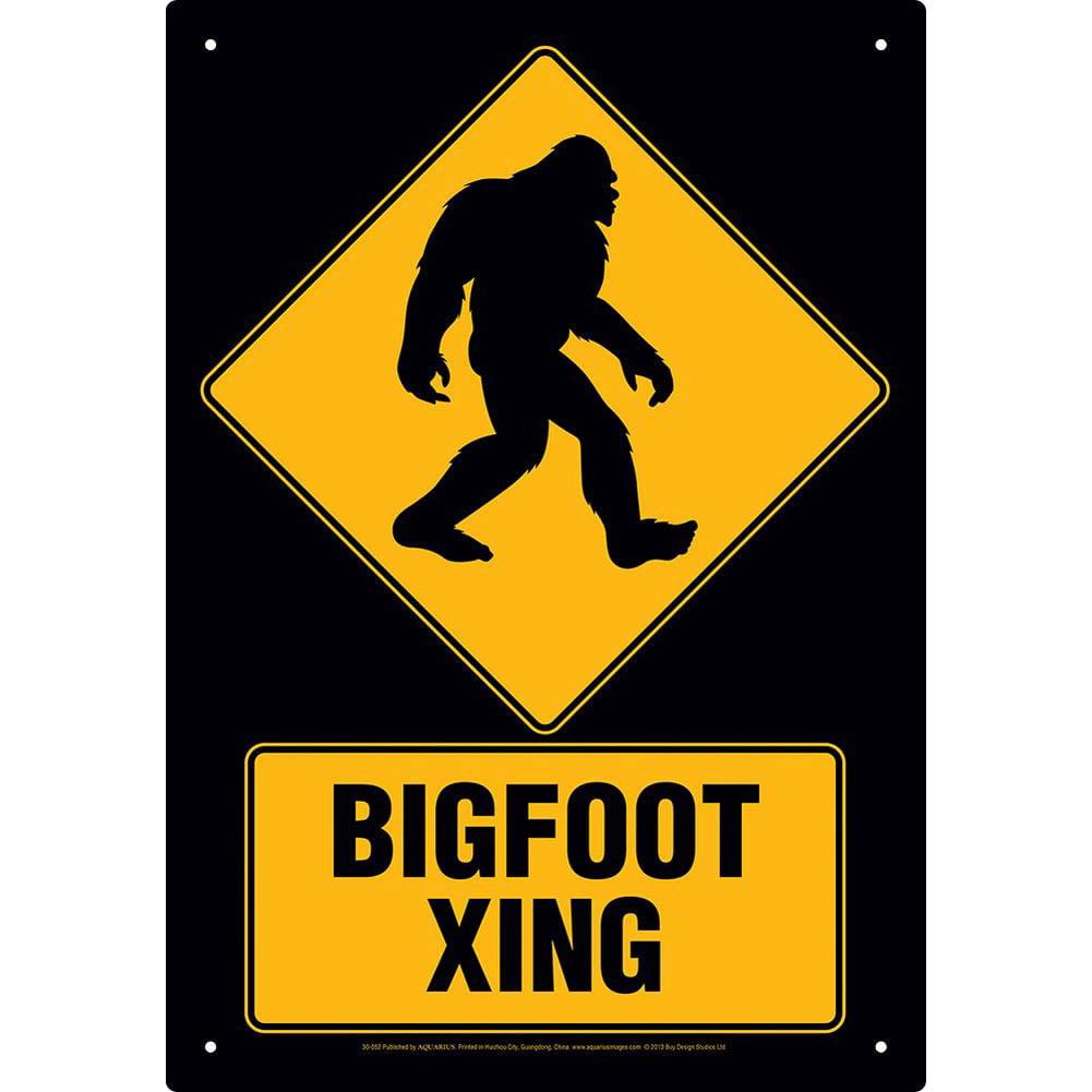 Bigfoot Xing Tin Sign