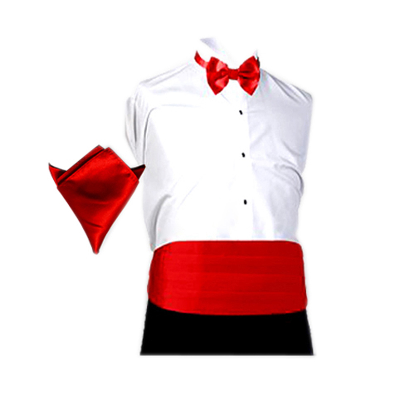 Zhuru Tuxedo Tie Printed Suit1 Mens Hoodie