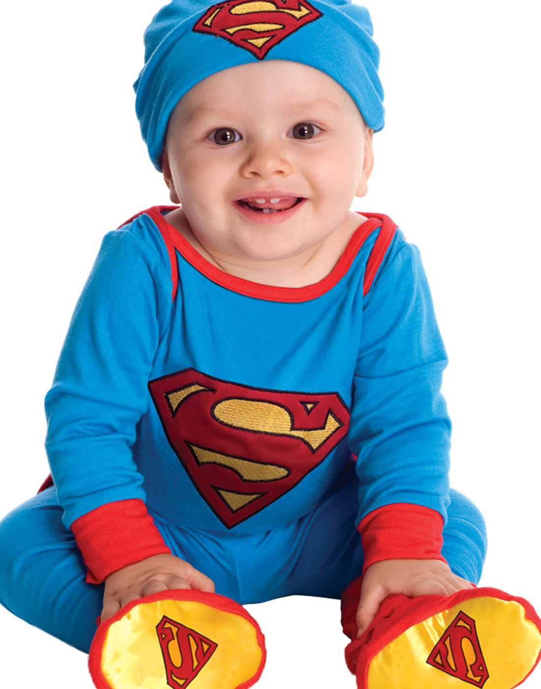 sc 1 st  Walmart & Superman Onesie Infant Halloween Costume - Walmart.com