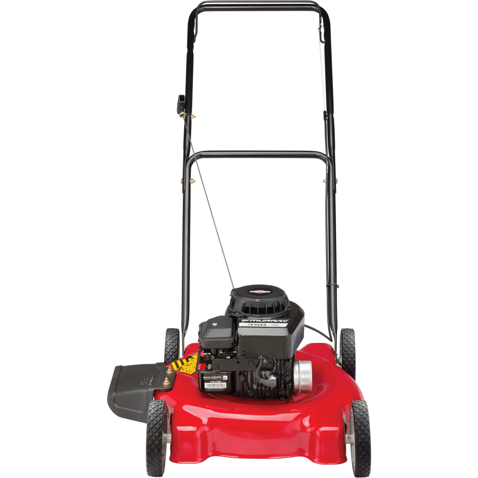 "Murray 20"" Push Mower With Side Discharg Walmart"