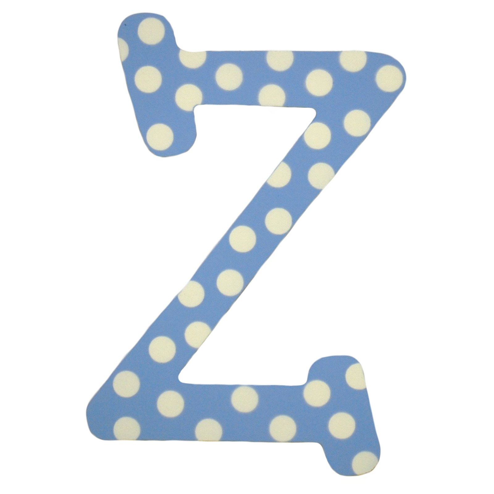 My Baby Sam Blue Polka Dot Letter