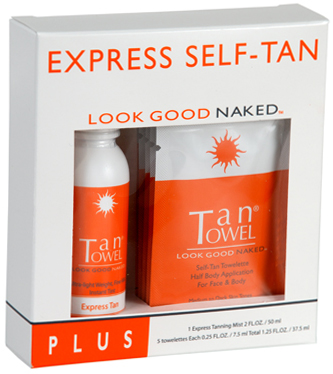 TanTowel Express Self-Tan Kit Plus (Color : Self-Tan Kit)