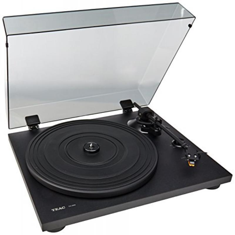 Teac TN-200 Belt Drive Turntable With USB Output (Black) by TEAC