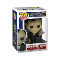 Funko POP! Movies: The Addams Family - Lurch w/Thing
