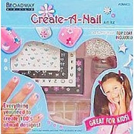 KISS Broadway Little Diva Nail Art Kit, CreateANailArt - Fun Halloween Nail Designs