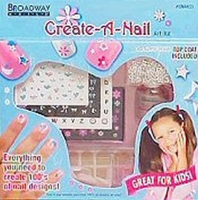 Kiss Broadway Nails Create a Nail Art Kit - 1 Ea