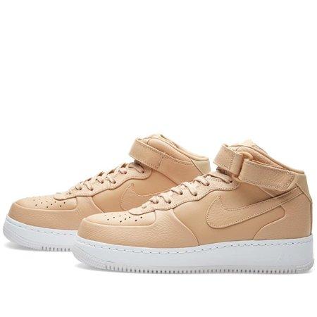 best sneakers 965eb afbf4 Nike - Men - Nikelab Air Force 1 Mid  Vachetta Tan  - 819677- ...