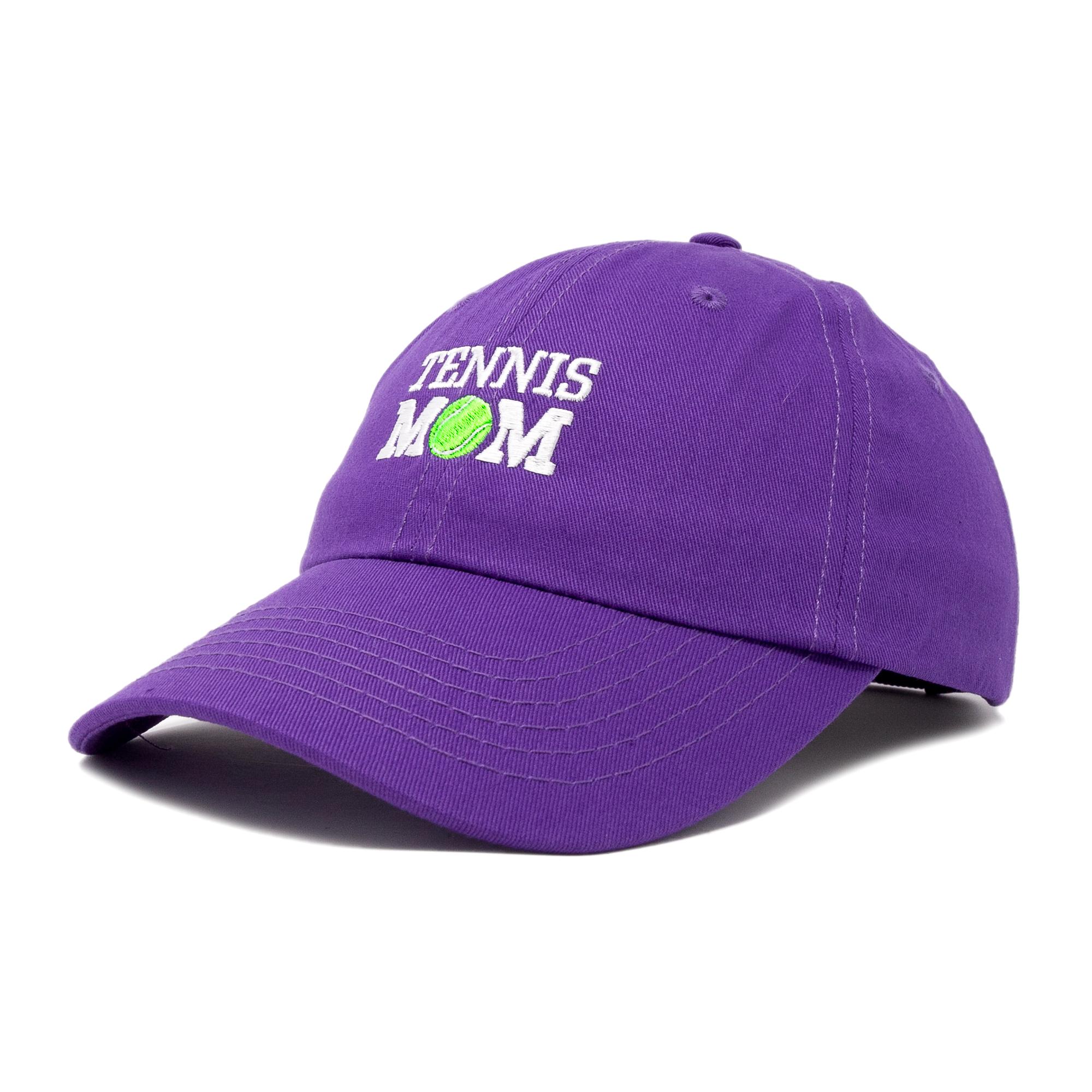 DALIX Premium Cap Tennis Mom Hat for Women Hats and Caps in Black