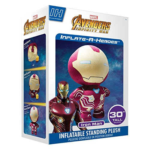 Inflate-A-Mals Marvel Avengers Infinity War Collectible Plush Character: Spiderman