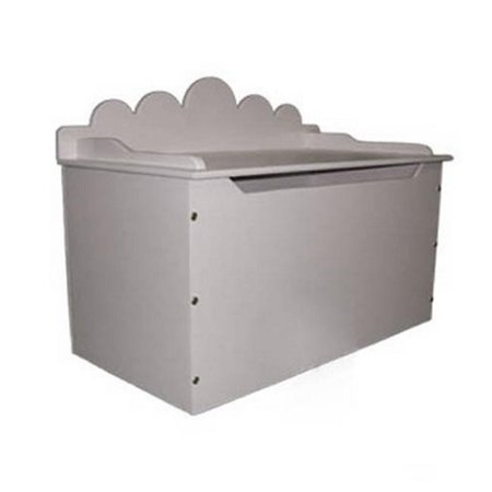 Just Kids Stuff Cloud Back Toy Chest Pink](Pink Storage Boxes)