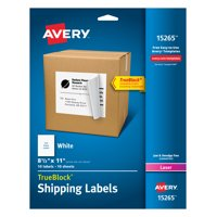 "Avery Internet Shipping Labels, 8-1/2"" x 11"", 10 Labels (15265)"