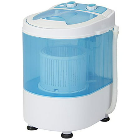 Best Choice Products Portable Mini Washing Machine Spin Cycle w/ Drainage Tube, 6.6lb Capacity -