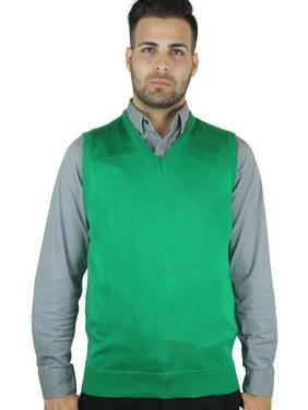 Men's Solid Sweater Vest