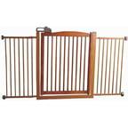 Pet Fence Gate Free Standing Adjustable Dog Gate Indoor
