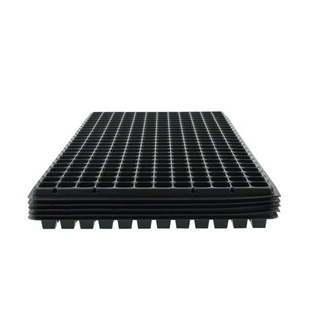 288 Common Element Standard Vacuum Plug Tray - 5 Sheets of 288 Cells Each - 12x24 Configuration - Garden, Nursery, Greenhouse, Seed