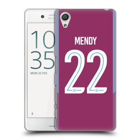 OFFICIAL MANCHESTER CITY MAN CITY FC 2017/18 PLAYERS AWAY KIT 2 HARD BACK CASE FOR SONY PHONES