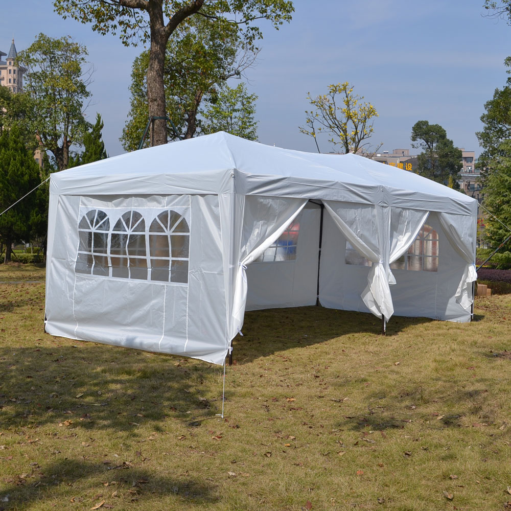 Zimtown 10'X20' Wedding Party Tent Gazebo Pavilion Canopy Buffet Cater Event