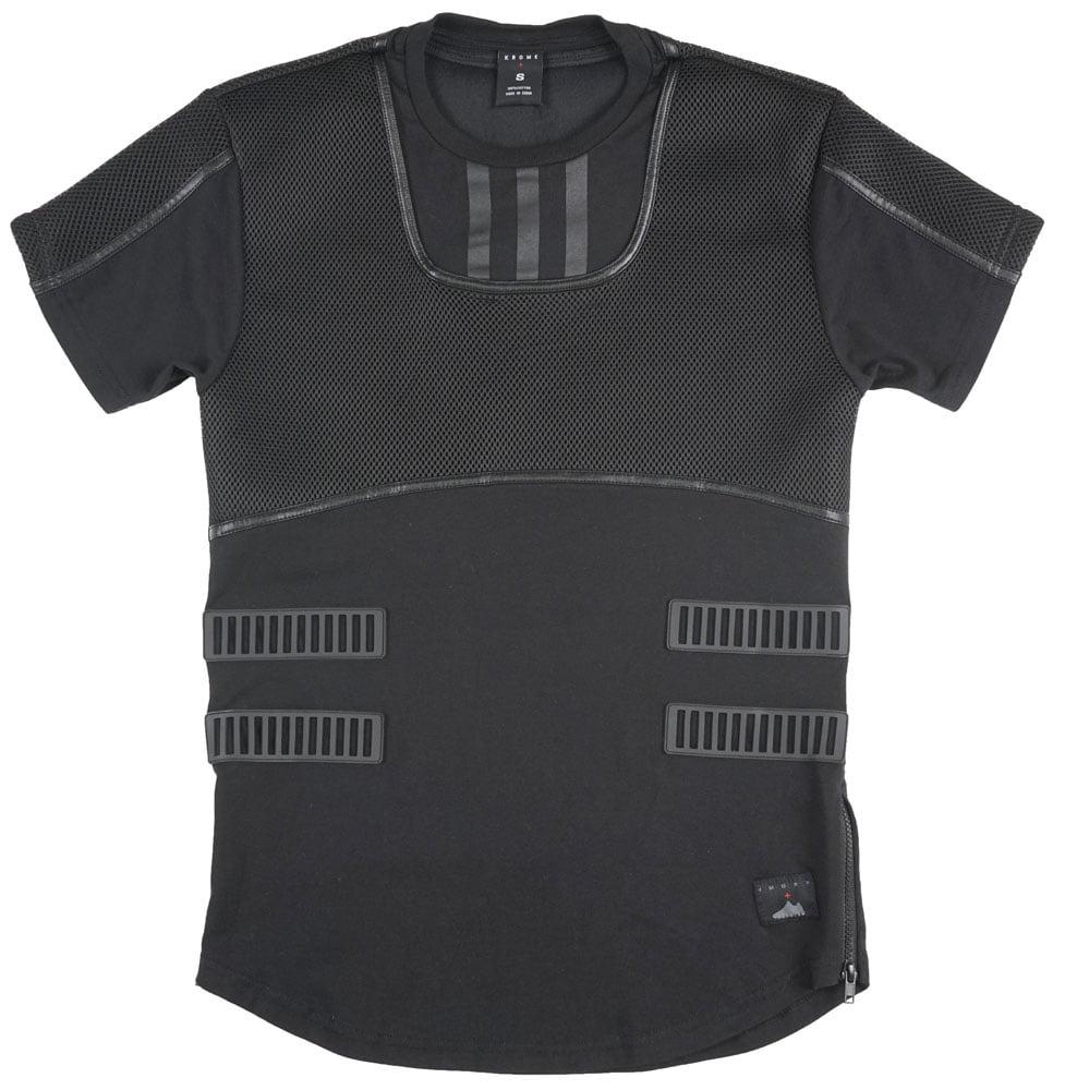 Krome Sneaker Inspired T-Shirt Hoodie Mens Black